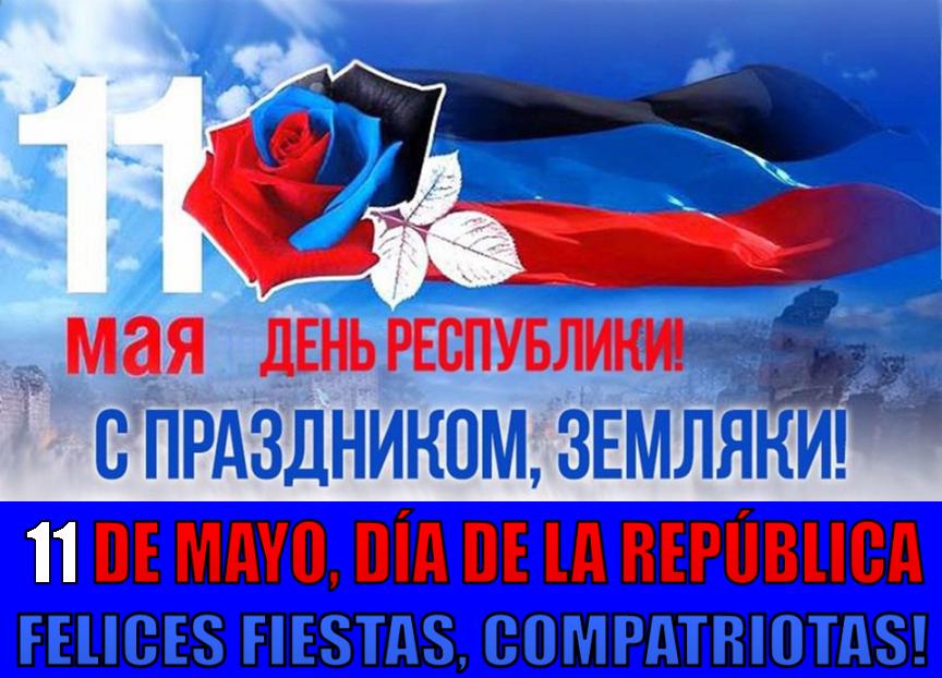 Tercer Aniversario de la República Popular de Donetsk