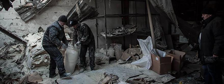 Bombardeos de Makeevka - Sergey Belous