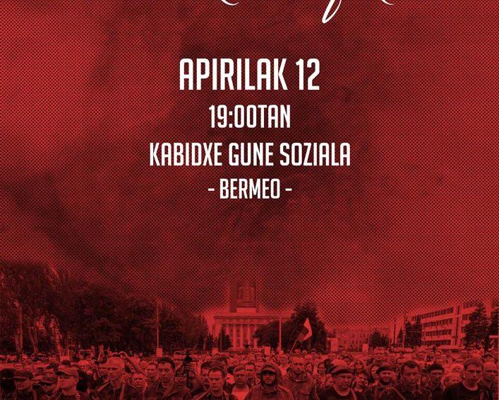 Apirilak 12 – Euskal Herria-Donbass Komitearen hitzaldia Bermeon