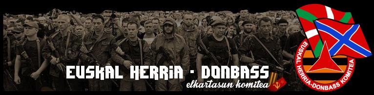 Euskal Herria ★ Donbass Elkartasun Komitea