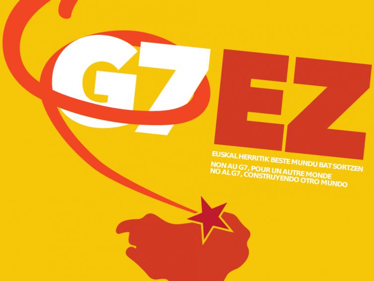G7 gailurra : borroken eta alternatiben bateratzearen alde
