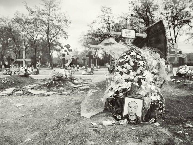 El cementerio de la Brigada Prizrak