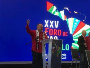 La unidad de la izquierda mundial es prioridad en el foro de Sao Paulo