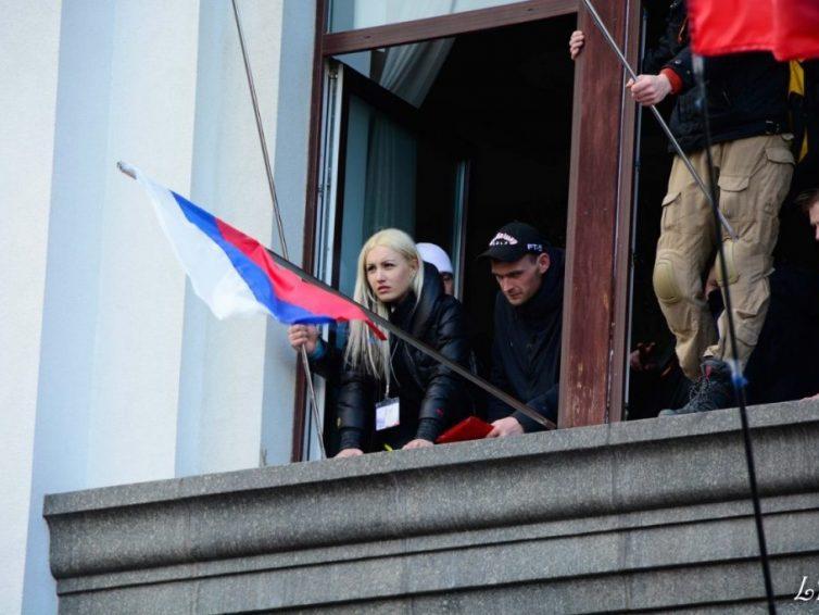 Entrevista con Anastasia Pyaterikova lideresa del movimiento social Guardia Lugansk al que se unieron las primeras milicias y voluntarios en 2014