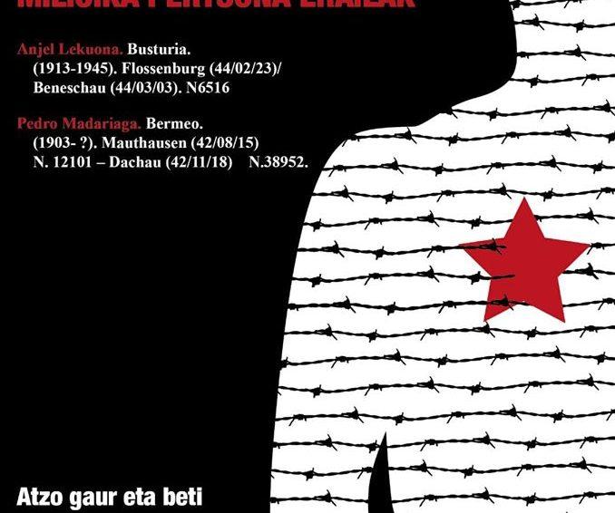 Urtarrilak 27 Holokaustoaren biktimak oroitzeko nazioarteko eguna / 27 de enero Dia internacional en Memoria de las victimas del Holocausto