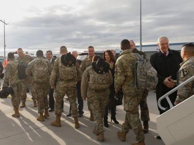 En la Europa cerrada del coronavirus, la Unión Europea abre las puertas a 30.000 tropas de Estados Unidos